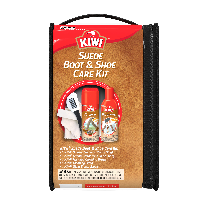 KIWI Suede Boot & Shoe Care Kit