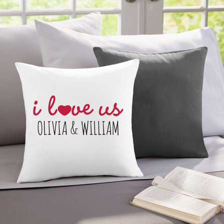 Personalized I Love Us Throw - Cheap Wedding Gifts