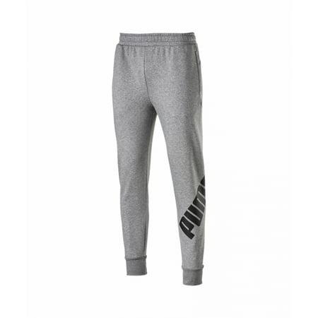 Puma Grey Big Logo Sweat Pants