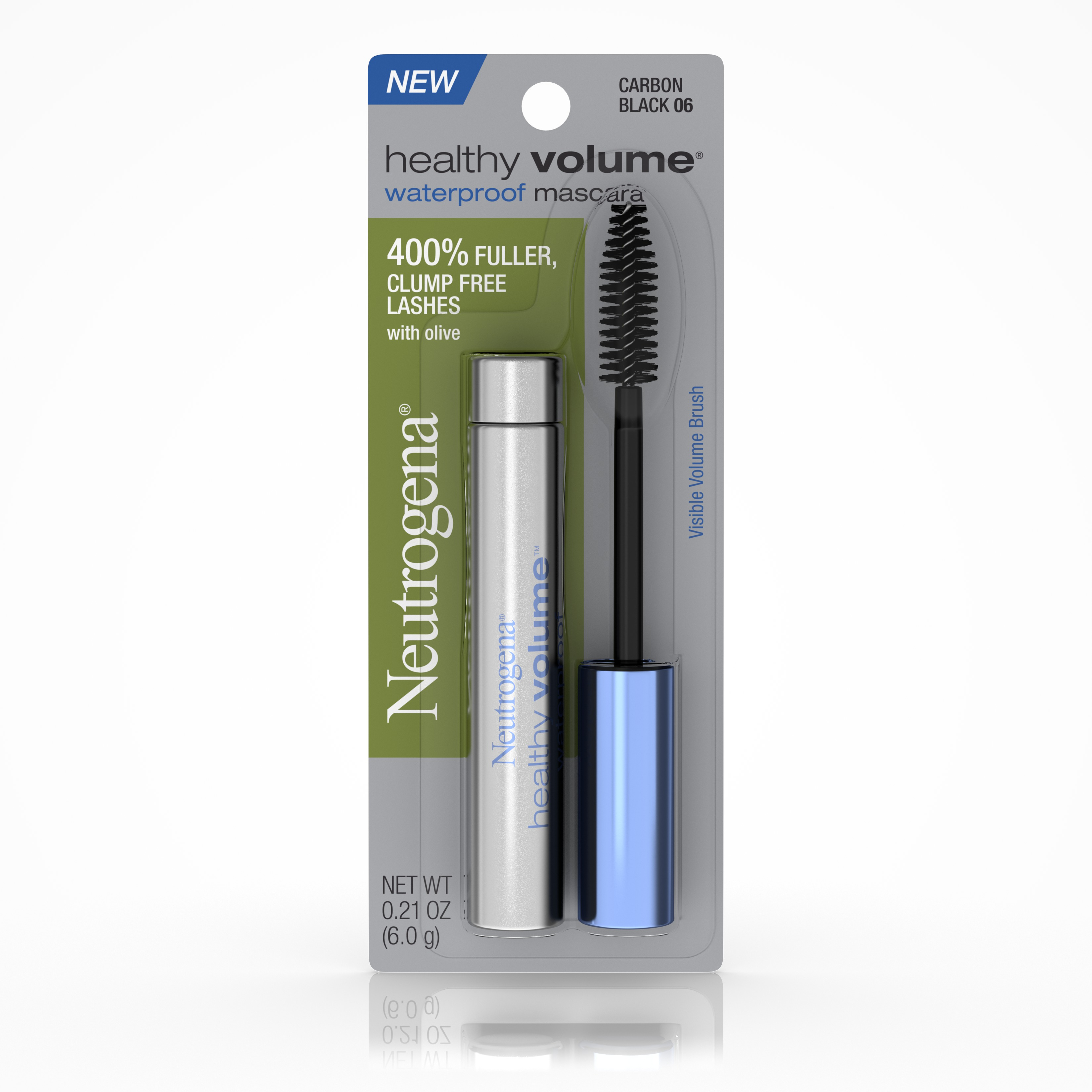 Neutrogena Healthy Volume Waterproof Mascara, Carbon Black 06, .21 Oz - Walmart.com