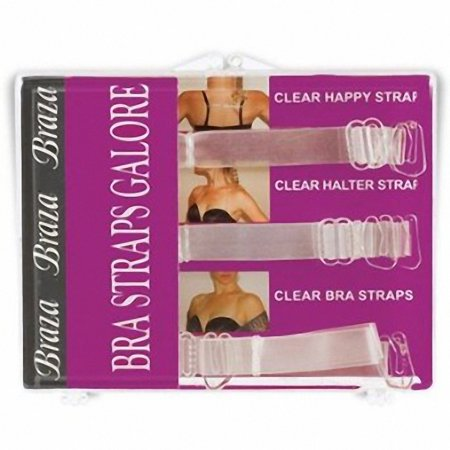 Braza Three Adjustable Bra Strap Galore