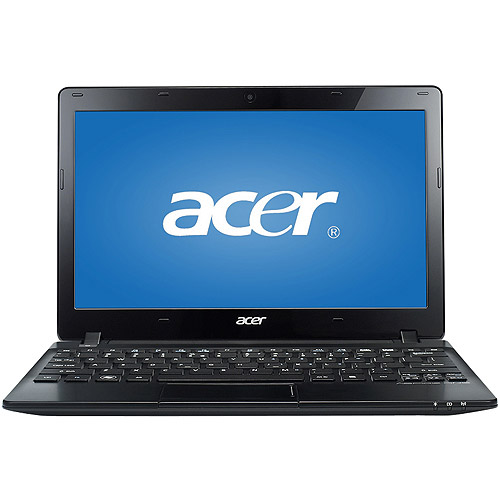 "Acer Black 11.6"" Aspire One AO725-0494 Netbook PC with AMD C-70 Dual-Core Processor and Windows 8 Operating System"
