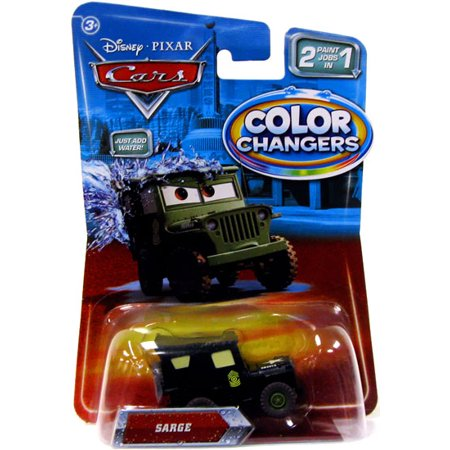 Disney Cars Color Changers Sarge Diecast Car