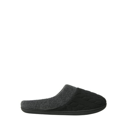DF by DEARFOAMS Womans Quilted Fleece Clog