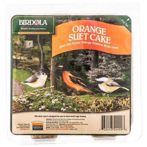 Birdola Orange Suet Cake w  Fruity Orange Essense for Birds by Spectrum Brands