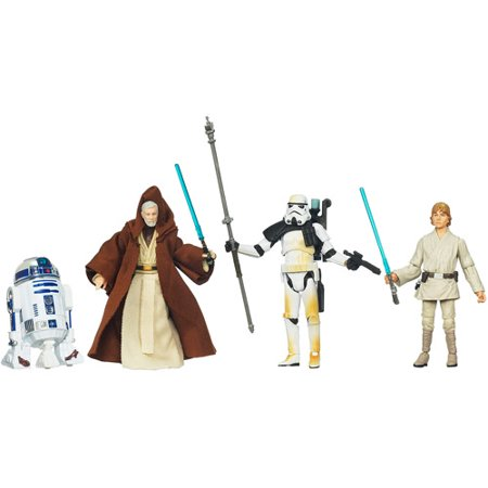 Star Wars DVD Collections Blu-Ray Release Commemorative Action Figure Set [Episode IV]