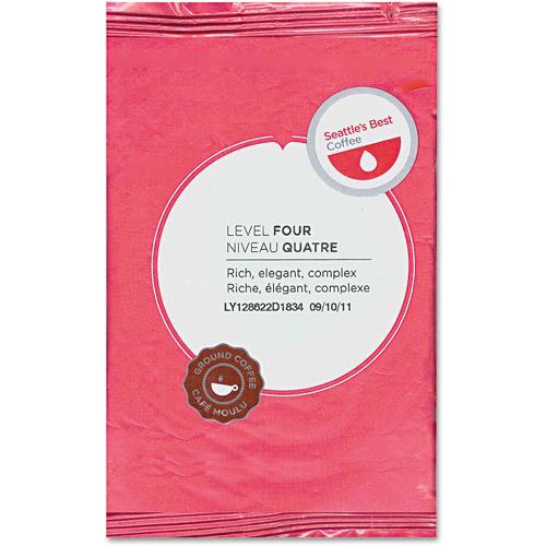 Seattle's Best Premeasured Packs Level 4 Coffee, 2 oz, 18ct