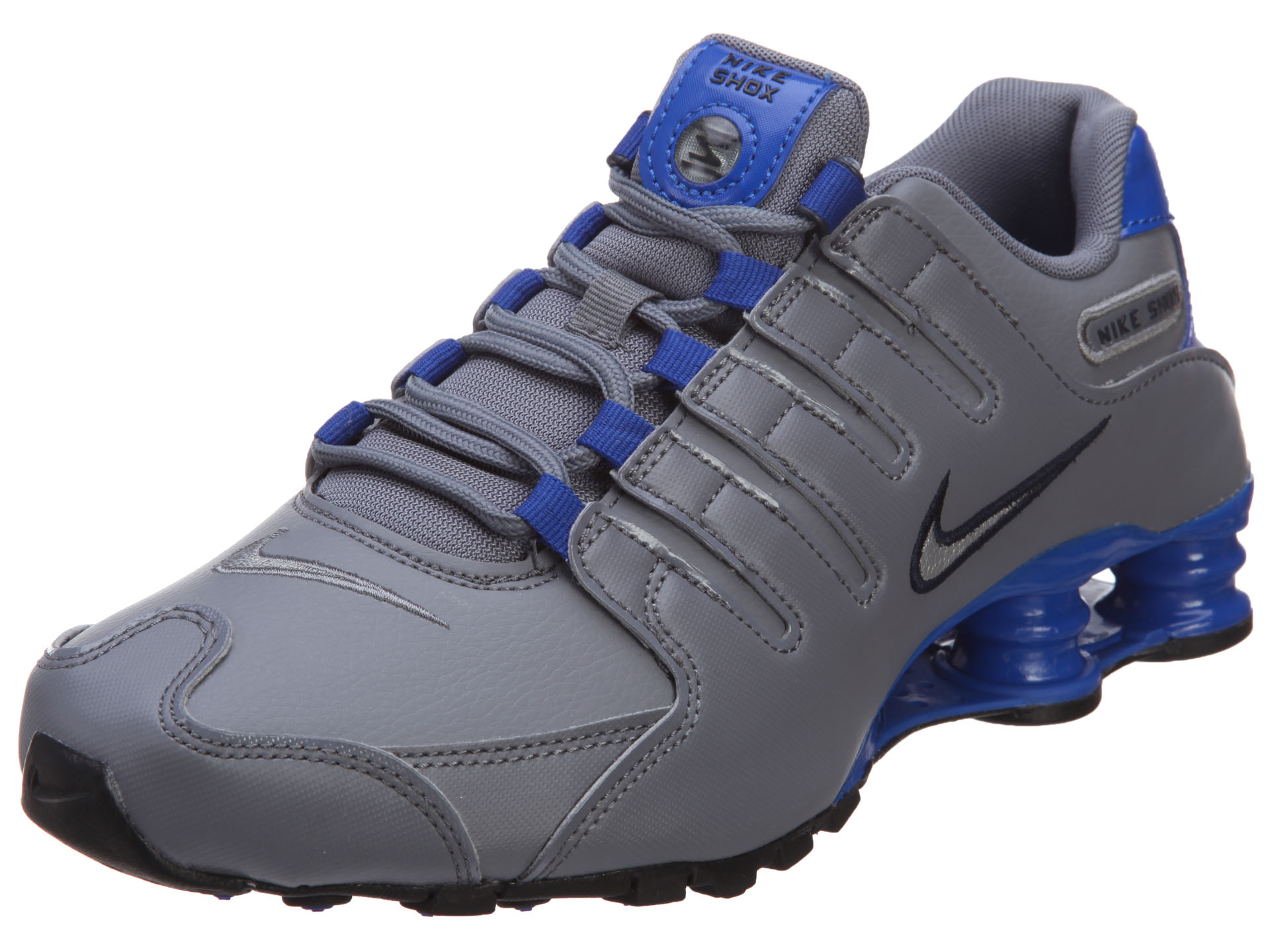 Nike Shox Nz Mens Grey And Blue Jeans  fd7638db7