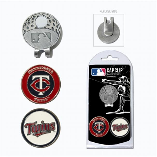Team Golf 96647 MLB Minnesota Twins - 2 Mkr Cap Clip