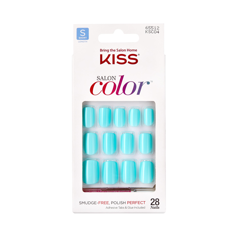 KISS Salon Color Nails, Eclipse