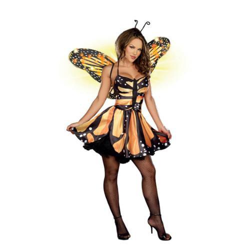 Dreamgirl Sexy Monarch Fairy Costume