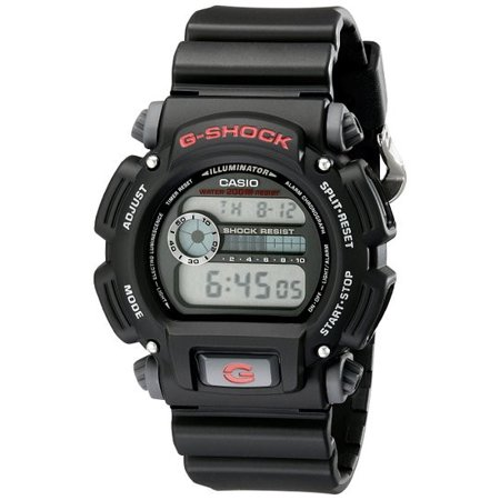 G-shock Stopwatch - Casio G-Shock DW9052-1V Men's Resin Digital Watch