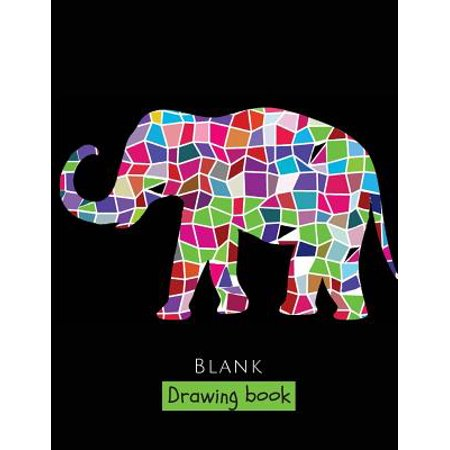 Blank Drawing Book : 150 Pages, Extra Large 8.5 X 11 Sketchbook, White Paper - Best for Crayons, Colored Pencils, Watercolor Paints and Very Light Fine Tip