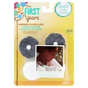 Tomy The First Years Quick Cover Creator Nursing Cover Clips