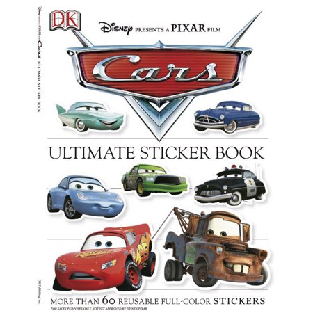 Ultimate Sticker Book: Cars : More Than 60 Reusable Full-Color