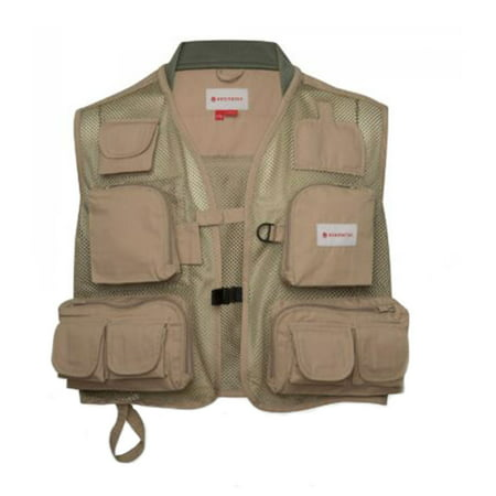 Redington Clark Fork Fly Fishing Fast Wicking Mesh Vest with 11 Pockets, 2XL/3XL