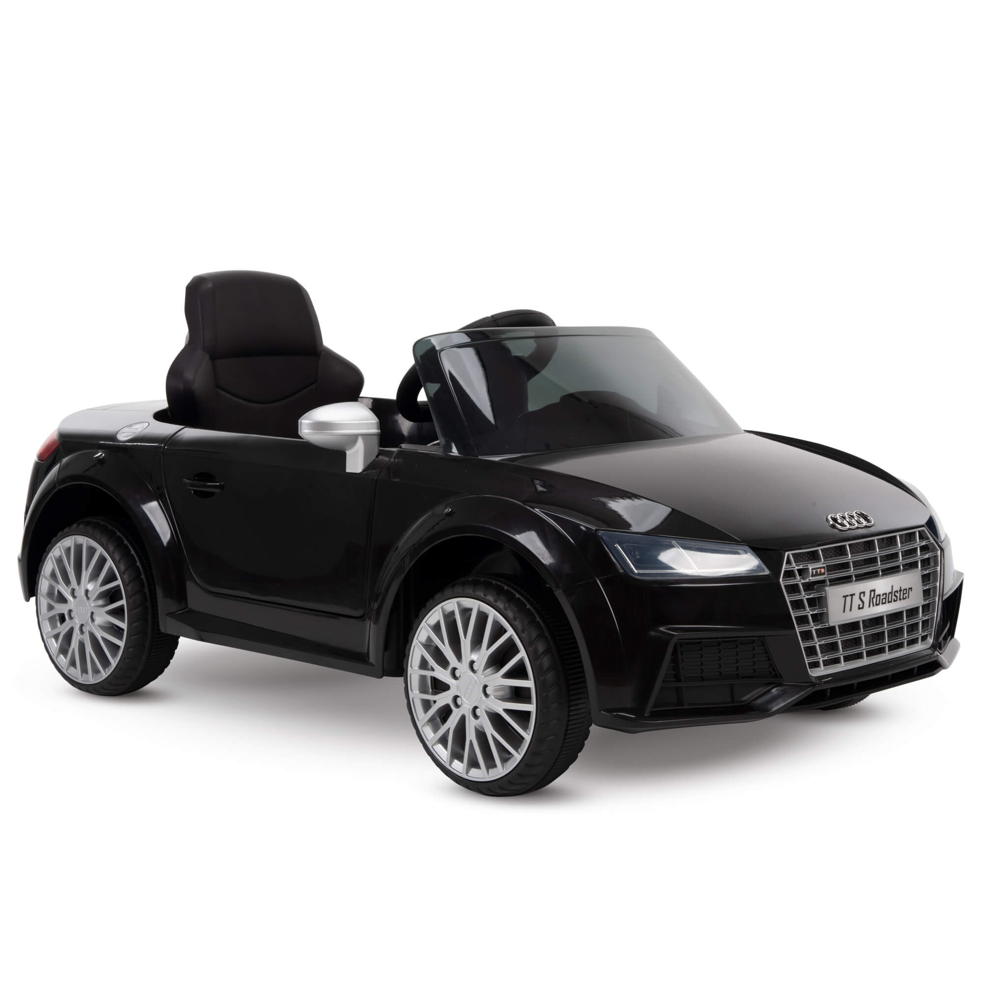 12v Audi Electric Battery Powered Ride On Car For Kids Red Walmart Com Walmart Com