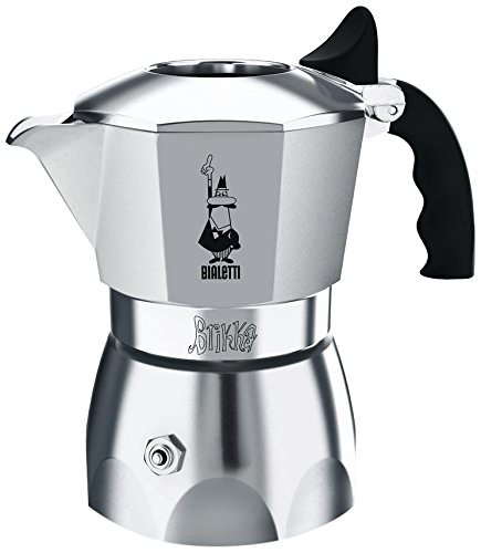 Bialetti 07008 Brikka Stainless Steel Stovetop Espresso Coffee Maker, 2-Cup by Bradshaw
