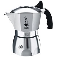 Bialetti Brikka Stove Top Espresso Coffee Maker with Pressurized Crema Valve, 2 Cup