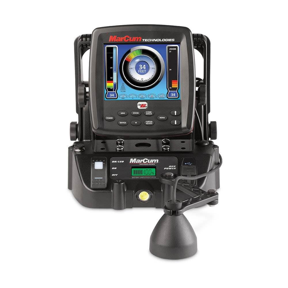 Marcum Rapala M5 Underwater Ice Fishing Flasher Sonar System /& Fish Finder