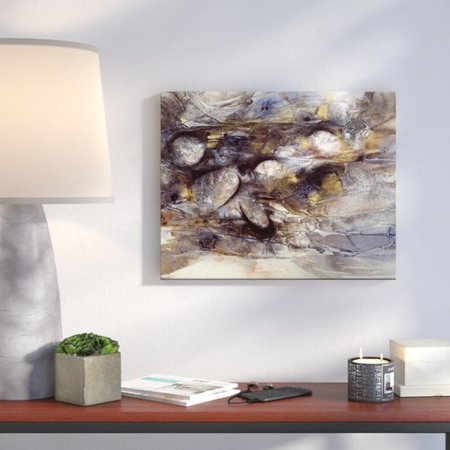 Ivy Bronx Riverbed 1 Graphic Art Print On Canvas