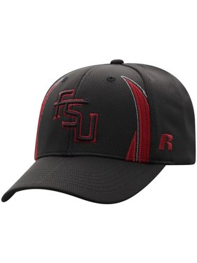dce3d3472dc613 Product Image Men's Russell Black Florida State Seminoles React Adjustable  Hat - OSFA