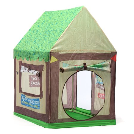 Kids Tent Boys Girls Castle Cubby Playhouse Children Game Room Cottage Toy Ocean Ball Tent