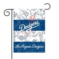 "Los Angeles Dodgers Sparo 13"" x 18"" Double-Sided Garden Flag with Pole - No Size"