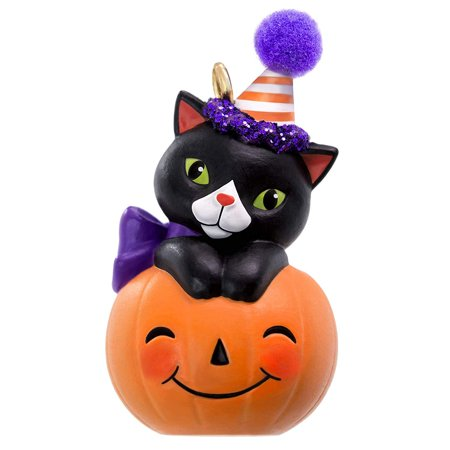 Hallmark Keepsake Halloween Ornament 2019 Tiny Black