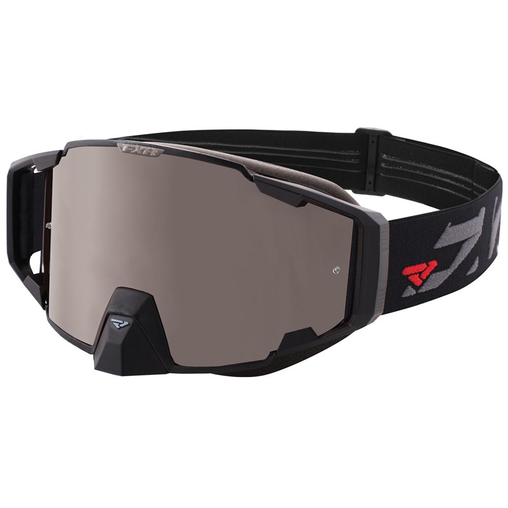 FXR Pilot Goggle Authentic Anti-Fog Anti Scratch Poly Lens Snowmobile Snocross by FXR