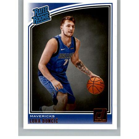2018 19 Donruss 177 Luka Doncic Dallas Mavericks Rookie Basketball Card