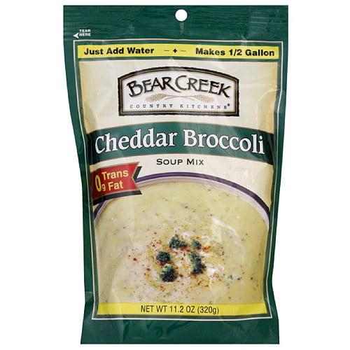 Bear Creek Cheddar Broccoli Soup Mix, 11.2 oz (Pack of 6)