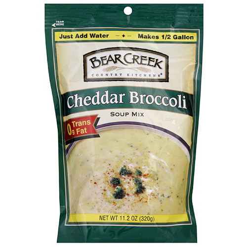 Bear Creek Cheddar Broccoli Soup Mix, 11.2 oz (Pack of 6)