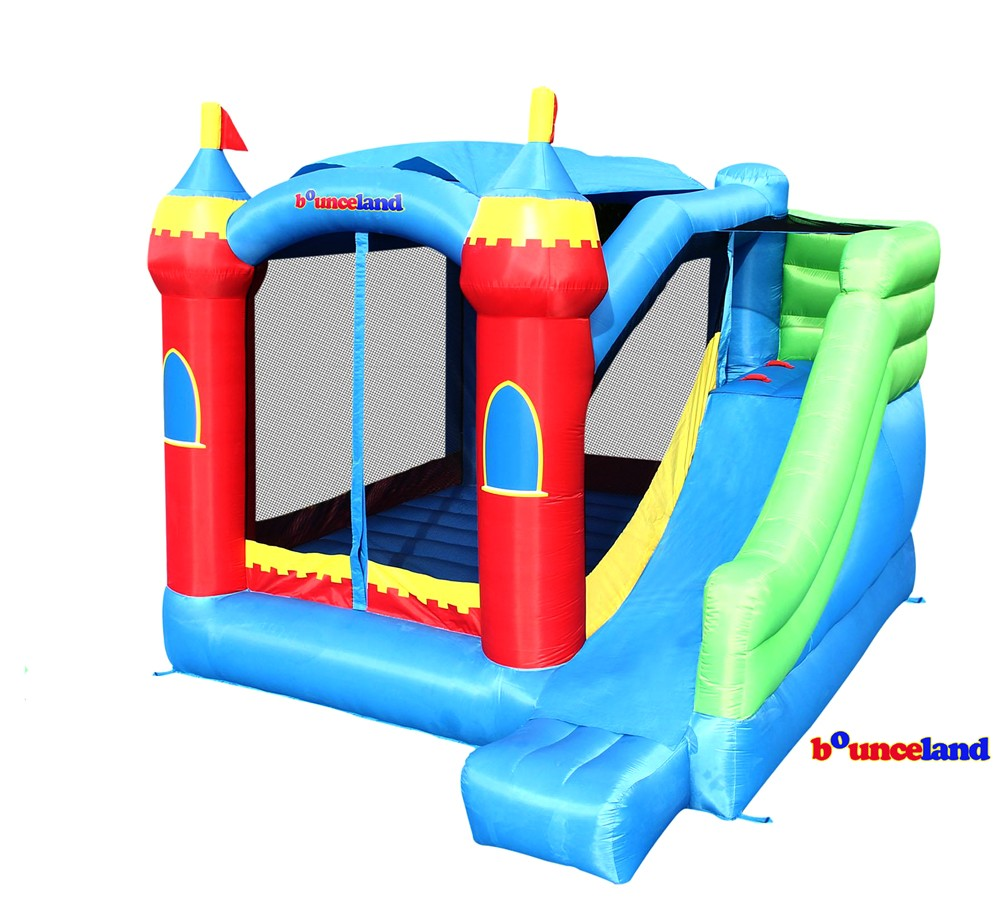Bounceland Bounce house Royal Palace Bounce House with Slide by Overstock