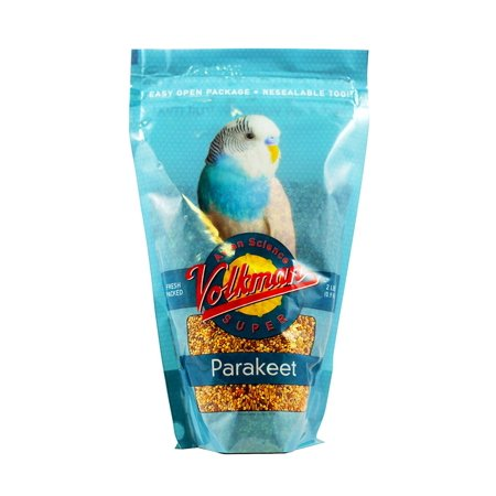 Volkman Seed Avian Science Super Parakeet Nutritionally Balanced Diet Food 2 lbs ()