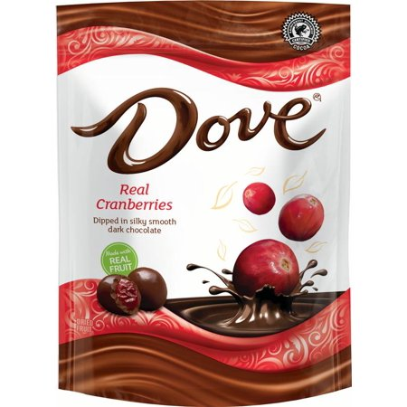 DOVE Fruit Dark Chocolate with Real Cranberries, 17 Ounce (Cherry Chocolate Fruit)