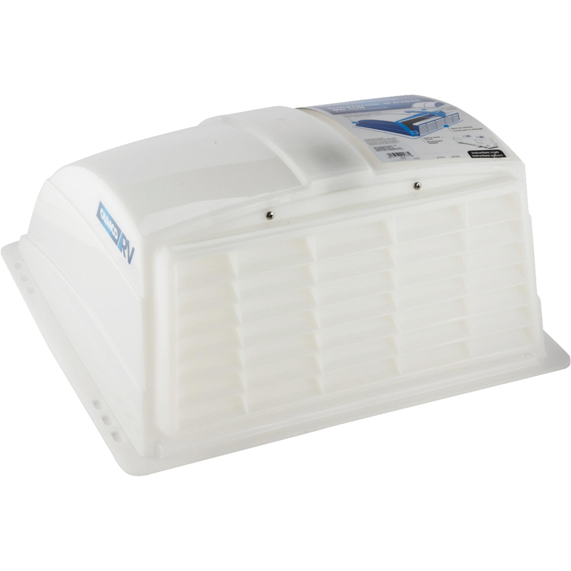 Camco 40433 RV Roof Vent Cover (White)