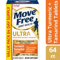 Move Free Ultra Turmeric & Tamarind Blend Joint Health Supplement (64 count)