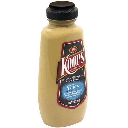 Koops' Dijon Mustard, 12 oz (Pack of 12)