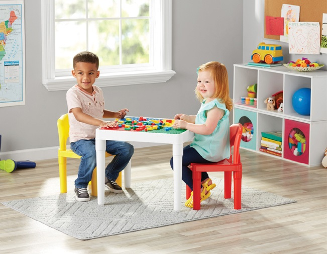 2-in-1 Construction Table 3pc Set Square