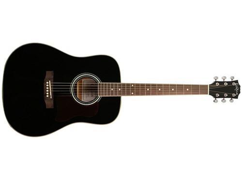 Carlo Robelli F640 Dreadnought Acoustic Guitar (Black) by