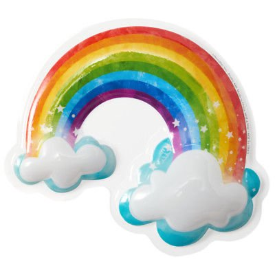 Rainbow with Clouds Pop Top Cake Topper - 23266 - National Cake Supply - Cake Pop Halloween Ideas