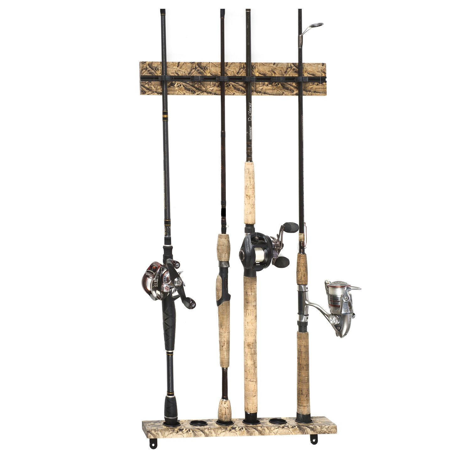 Organized Fishing 15.75in 6 Capacity Modular Wall Rack-Camo