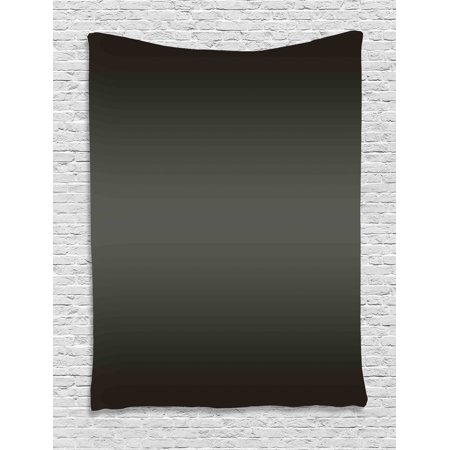 Ombre Tapestry, Dark Fumes and Black Smoke Car Related Elements Inspired Modern Design Art Digital Print, Wall Hanging for Bedroom Living Room Dorm Decor, Black, by Ambesonne