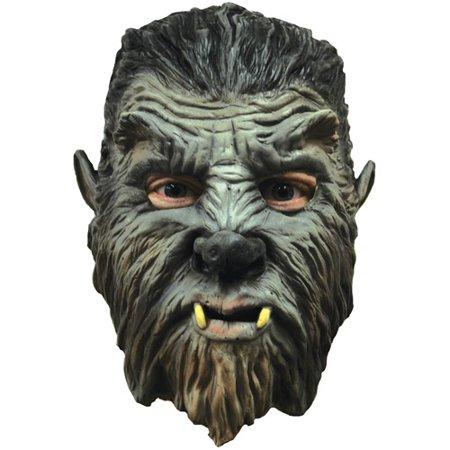 Werewolf Mini Monster Adult Halloween Latex Mask Accessory