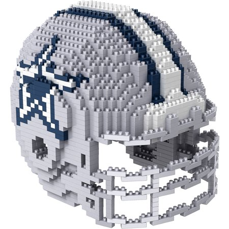 Forever Collectibles 3D BRXLZ Mini Helmet, Dallas Cowboys