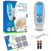 AccuRelief Single Channel TENS Therapy Electrotherapy Pain Relief System