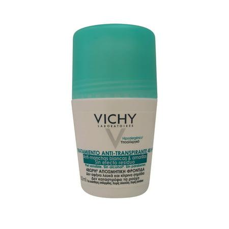 Vichy 48 Hour Roll-On Antiperspirant Anti-Residue, 1.69 Oz