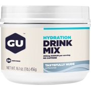GU Hydration Drink Mix: Tastefully Nude, 24 Serving Canister