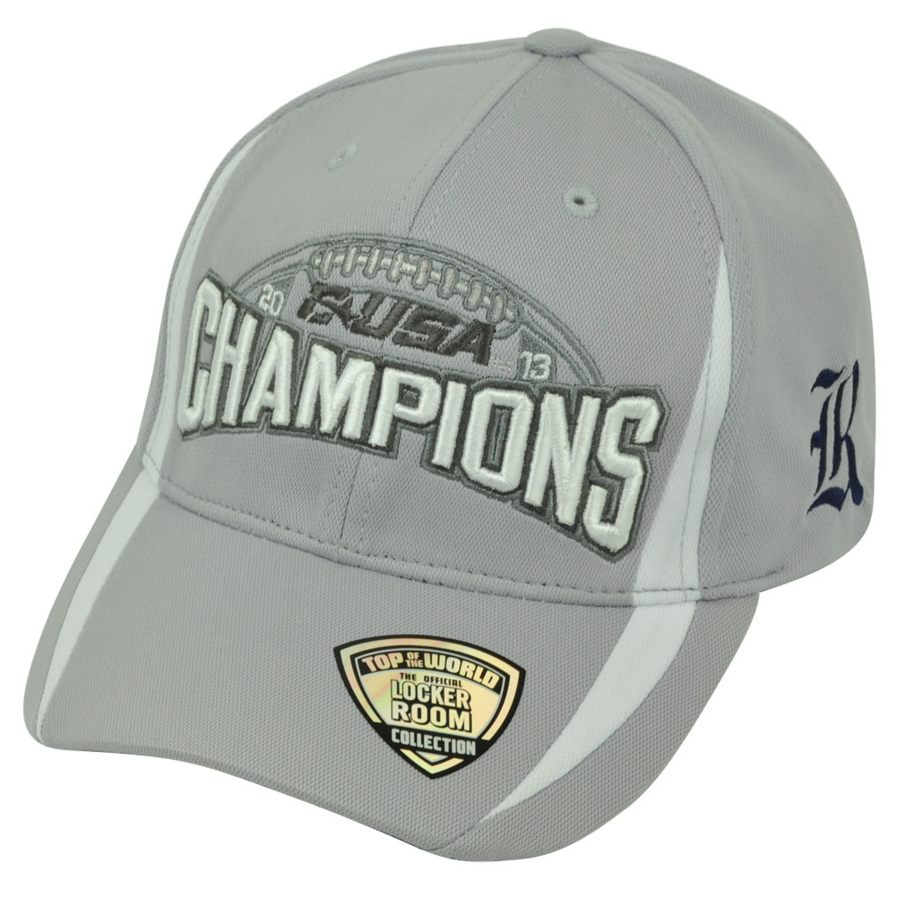 NCAA Rice Owls 2013 C-USA Football Champions  Top of the World Hat Cap